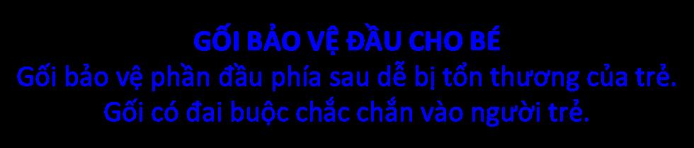 Gối Bảo Vệ Đầu Cho Bé Khi Té Ngã - KUB - Hình Con Hưu 1