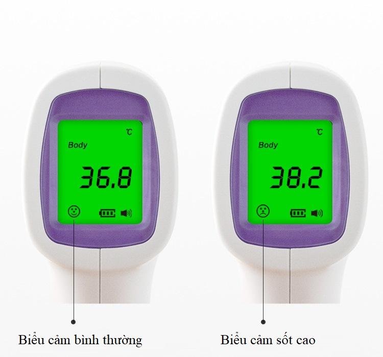 Nhiệt kế hồng ngoại đo nhiệt độ cơ thể model KV-11 - Đo nhanh và chính xác chỉ trong 1s 5