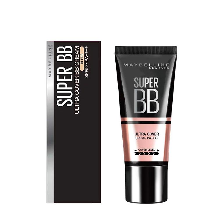 Kem Nền Maybelline Super BB Ultra Cream Cover SPF50 PA++++ 30ml Trang Điểm Hoàn Hảo PM711 2