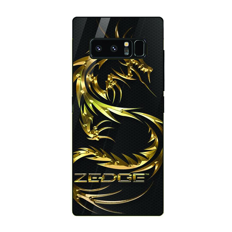 Ốp kính cường lực cho điện thoại Samsung Galaxy Note 8 - long hổ MS LONG033