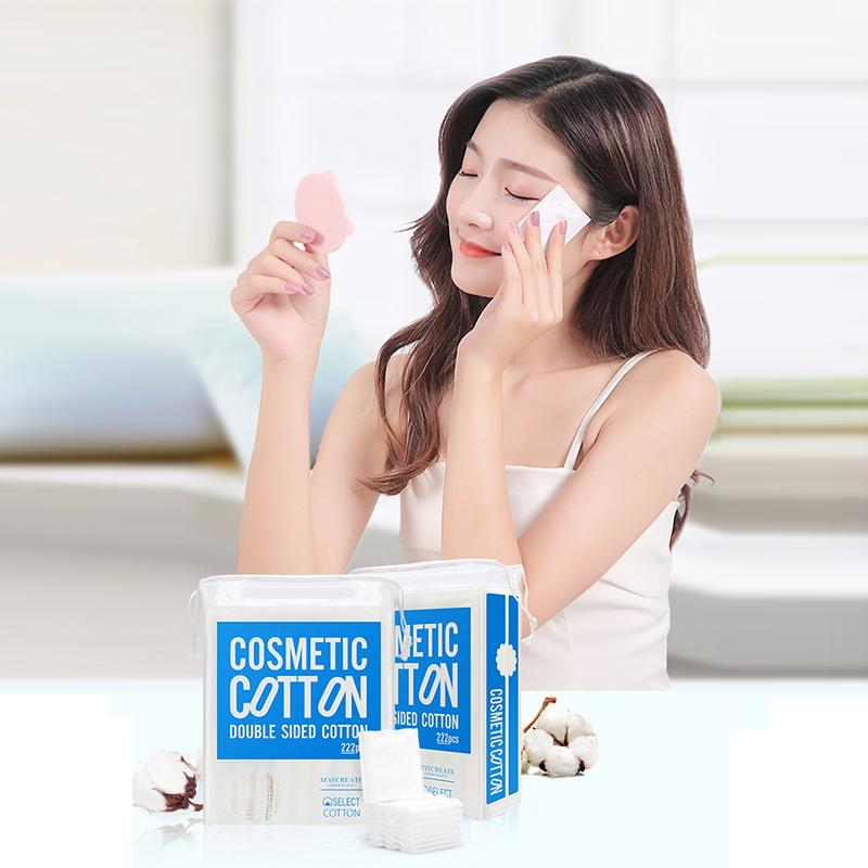 Bông Tẩy Trang M aycreate Ba Lớp COTTON Mềm Mịn Dai P03 5
