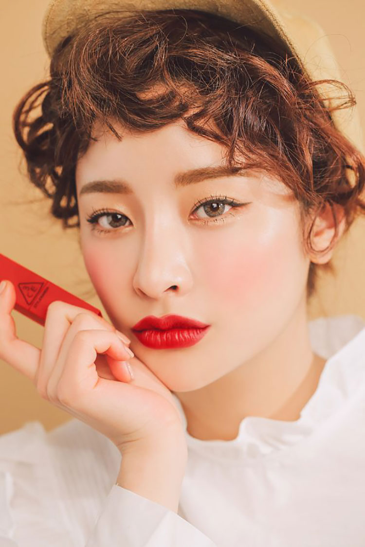 Son Thỏi 3CE Red Recipe Matte Lip Color #214 Squeezing