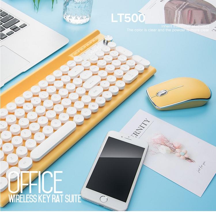 Bộ bàn phím và chuột không dây cao cấp -500 2