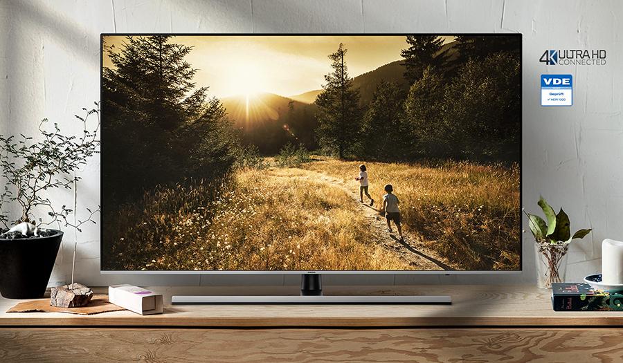 Smart Tivi Samsung 65 inch UHD 4K UA65NU8000KXXV - Hàng Chính Hãng