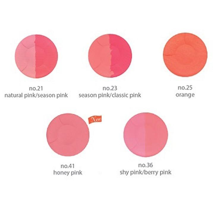 Phấn má hồng Mira Aroma Multi Blusher Hàn Quốc 13g No.24 Hồng tặng kèm móc khoá 1