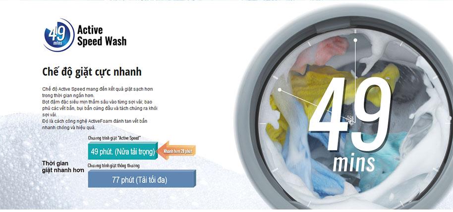 Máy Giặt Sấy Cửa Trước Inverter Panasonic NA-S106G1WV2 (10kg)