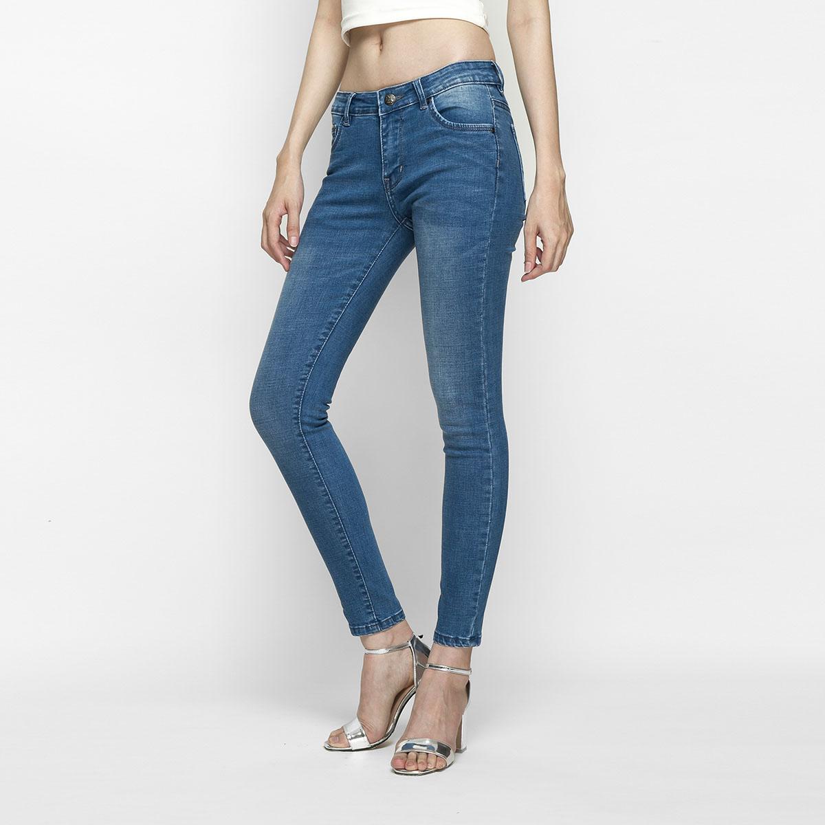 Quần Jean Nữ Skinny Lưng Vừa Aaa Jeans Có Nhiều Màu Size 26 - 32 16