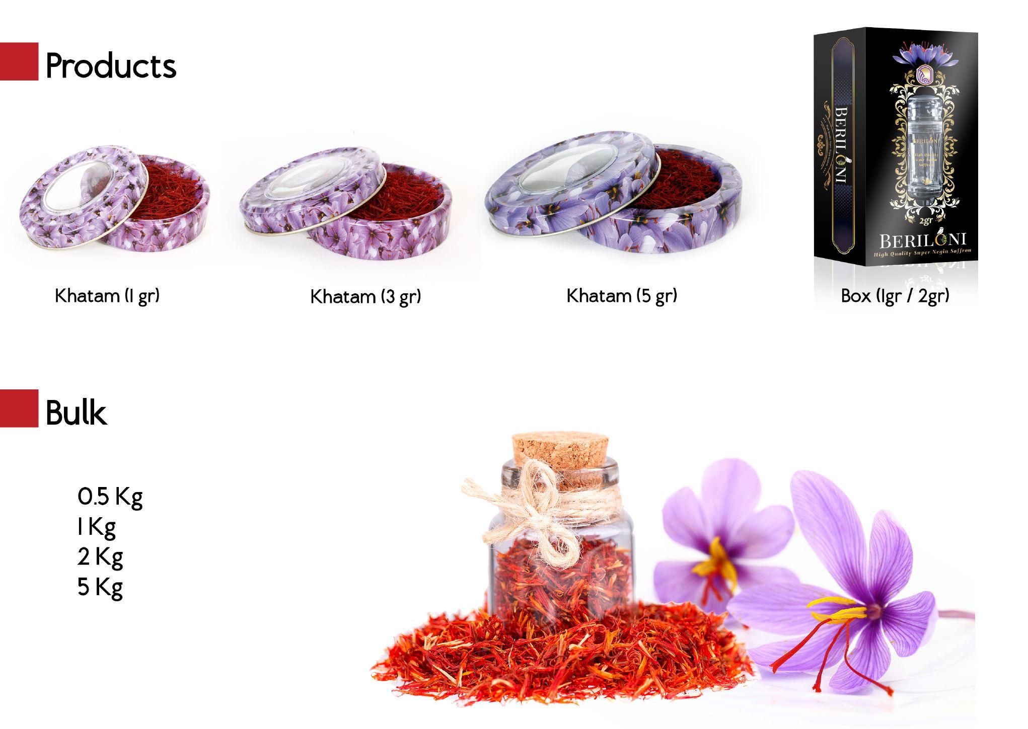 Nhụy Hoa Nghệ Tây Beriloni Saffron loại cao cấp Super Negin (1 Gram) 3