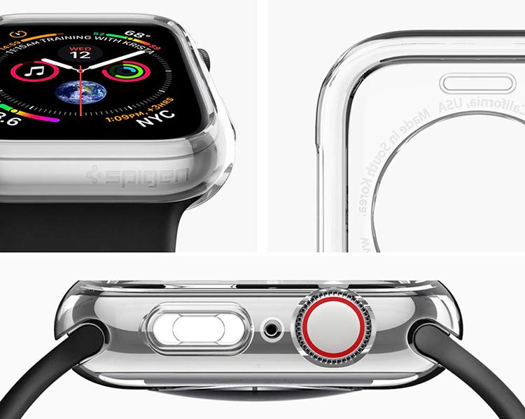 Apple Watch Series 4 (44mm) Case Liquid Crystal - Hàng Chính Hãng (062CS24473-Clear)