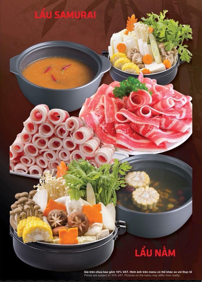 Buffet Tối Lẩu Nướng BBQ Bò Mỹ, Hải Sản Và Sushi - Tặng Kèm Buffet Kem - Tại Samurai BBQ