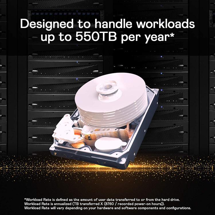 Ổ cứng Desktop WD HDD Gold 14TB WD141KRYZ - Hàng Chính Hãng