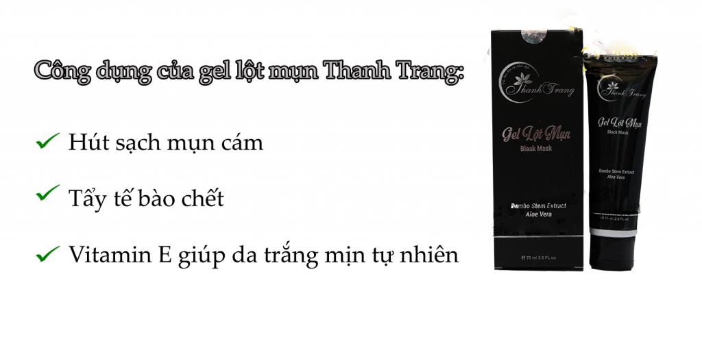 Gel Trị Mụn Thanh Trang 75ml 2