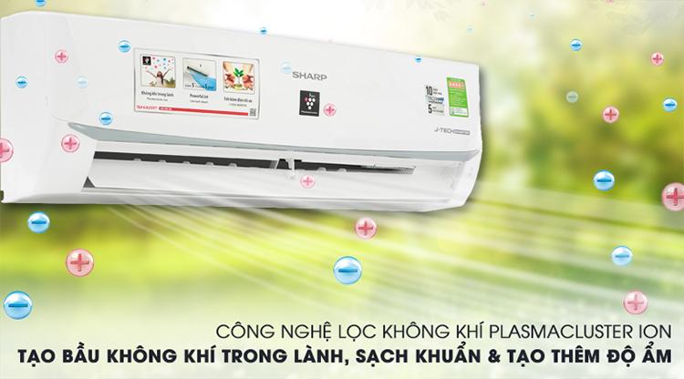 Máy Lạnh Inverter Sharp AH-XP18WMW (2.0HP)