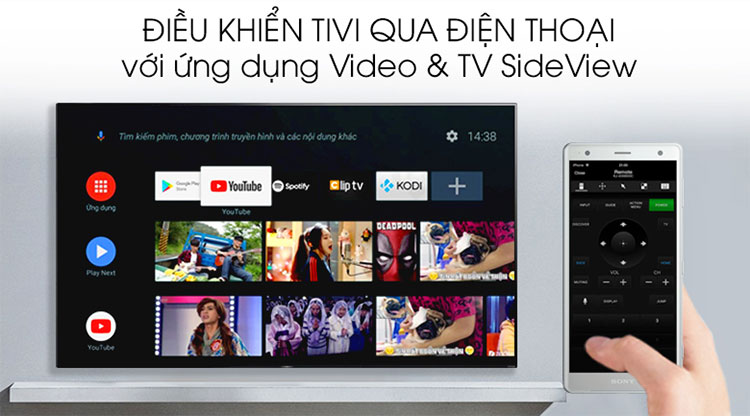 Android Tivi OLED Sony 4K 65 inch KD-65A9G - Hàng chính hãng