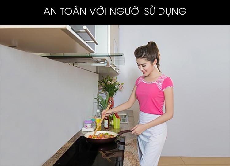 Bếp Âm Từ Đôi Panasonic KY-C227E (74.2 cm) - Hàng Chính Hãng