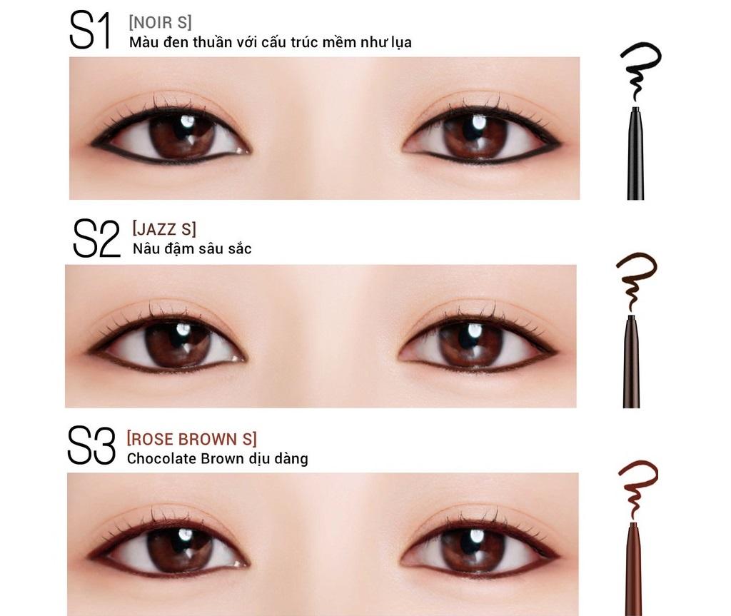 Gel chì kẻ mắt Bbia Last Auto Gel Eyeliner Slim 0.1g (5 màu) 2