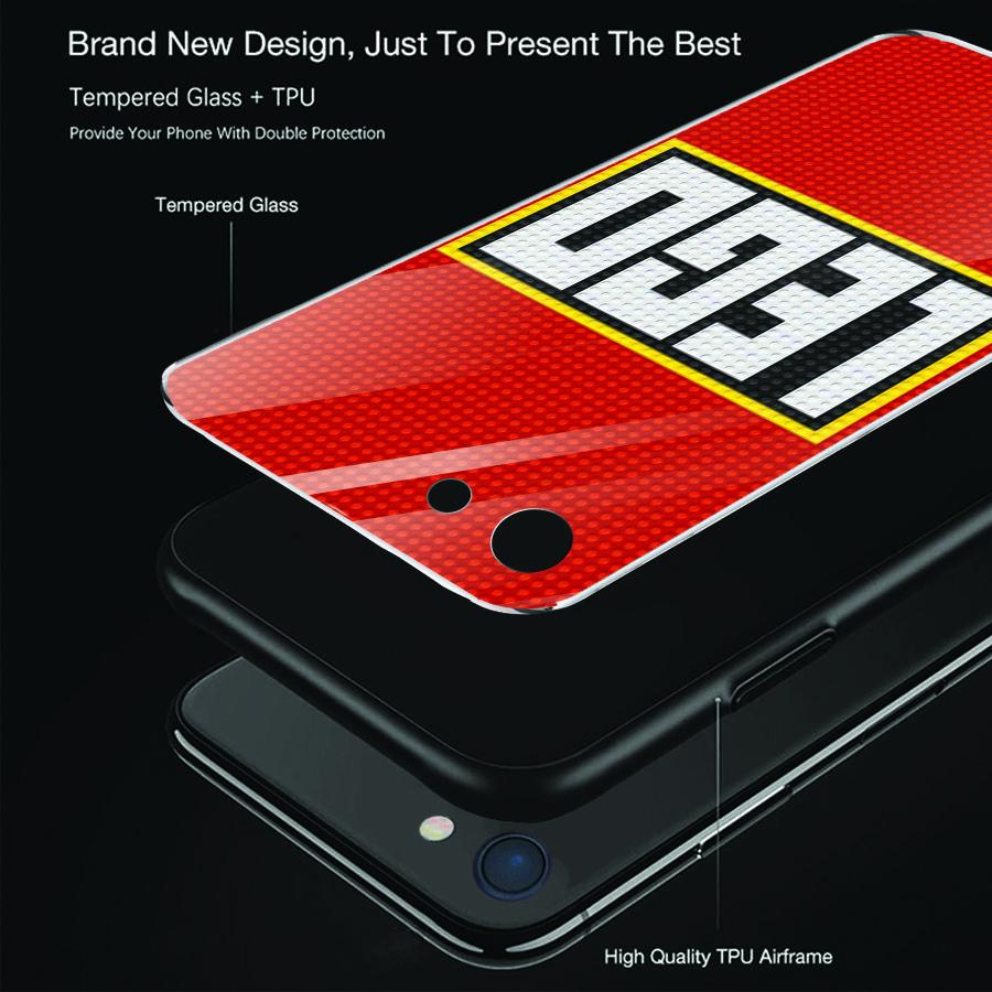 Ốp điện thoại kính cường lực cho máy iPhone 5/5s/se - xếp hình MS XHINH001
