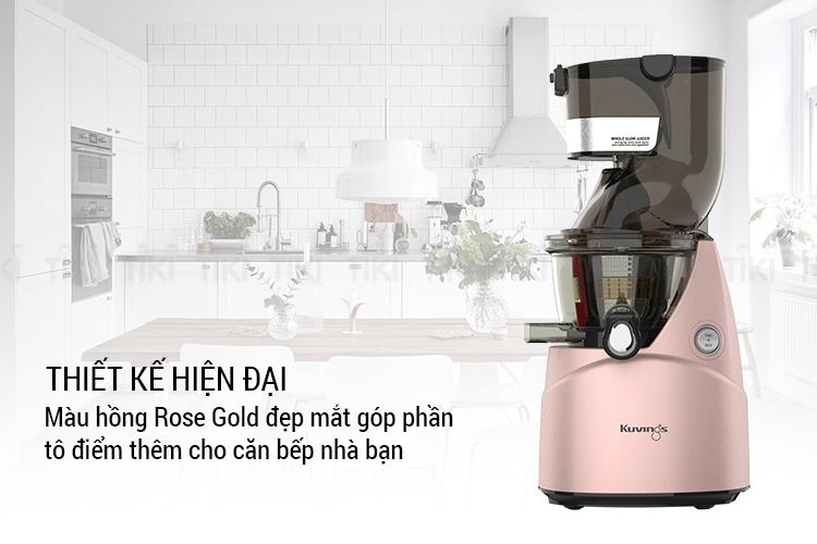 Máy Ép Trái Cây Kuvings NS-924CBC2 – Hồng Rose Gold
