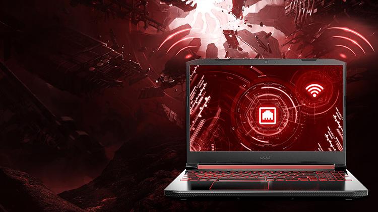 Laptop Acer Nitro 5 AN515-43-R65L NH.Q5XSV.004 (AMD Ryzen 7 3750H/ 8GB DDR4 2666MHz/ 256GB SSD M.2 PCIE/ RX 560X 4GB/ 15.6 FHD IPS/ Win10) - Hàng Chính Hãng