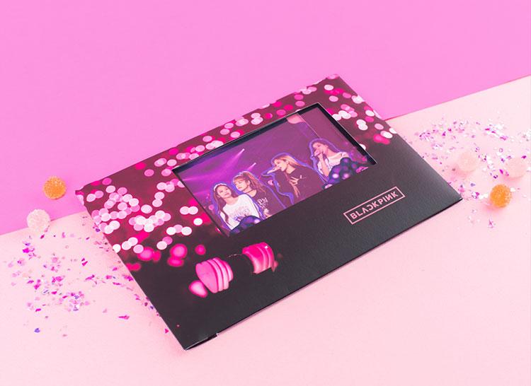 Blackpink Pop-Up Card