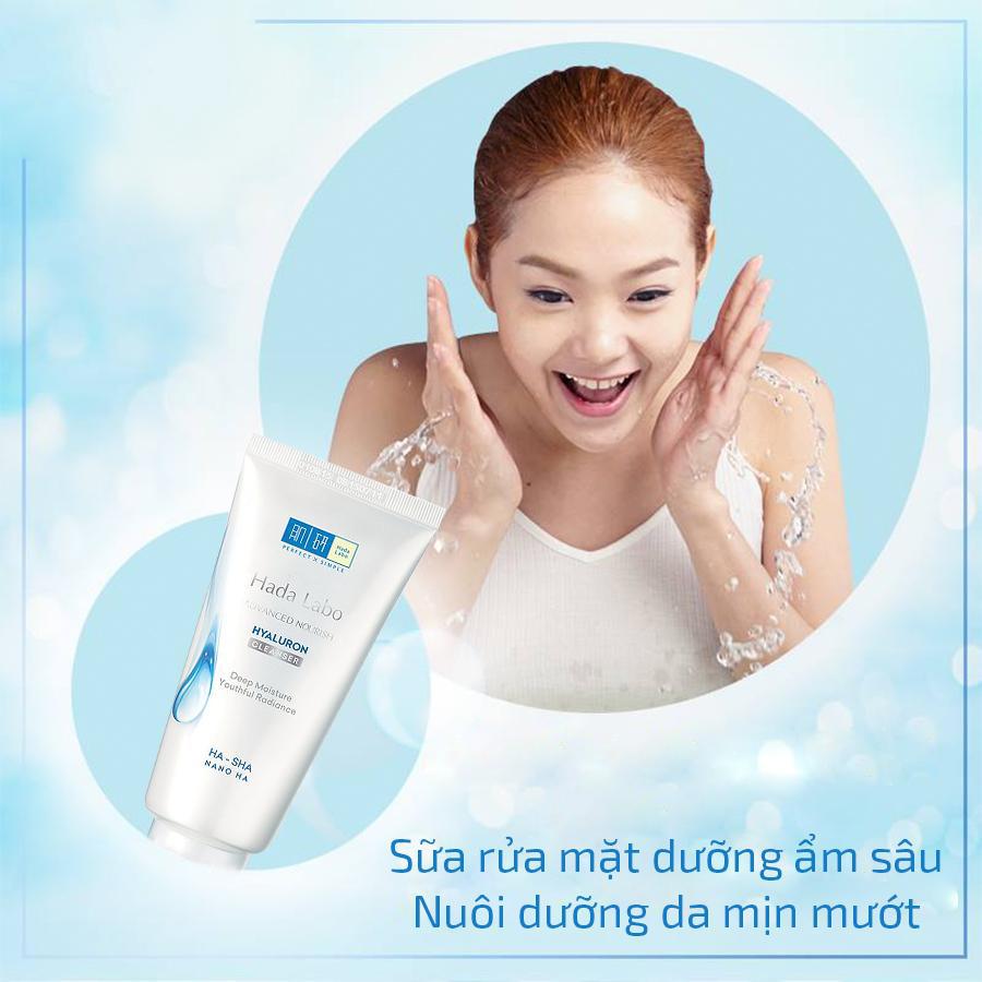 Kem rửa mặt dưỡng ẩm cho da dầu Hadalabo Advanced Nourish (80g) - Sữa rửa  mặt khác Nhãn hiệu Hada Labo | MuaDoTot.com