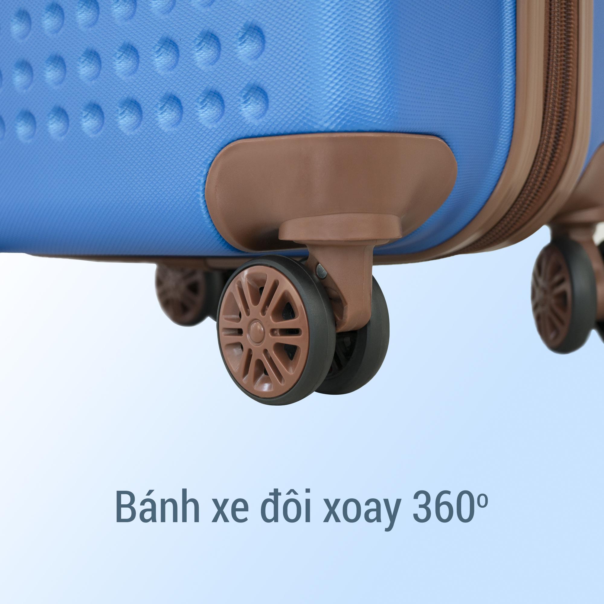 Vali Du Lịch Cao Cấp Trip P803A - Size 60 - Xanh Rêu