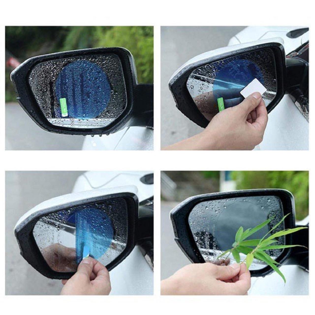 Miếng dán gương chống nước trên cửa kính ô tô 1