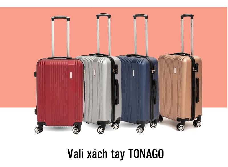 Vali du lịch TONAGO - Chống va đập, chống trầy xước