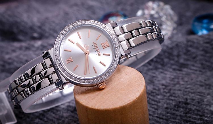 Đồng hồ nữ Julius JA-1124A (Bạc)