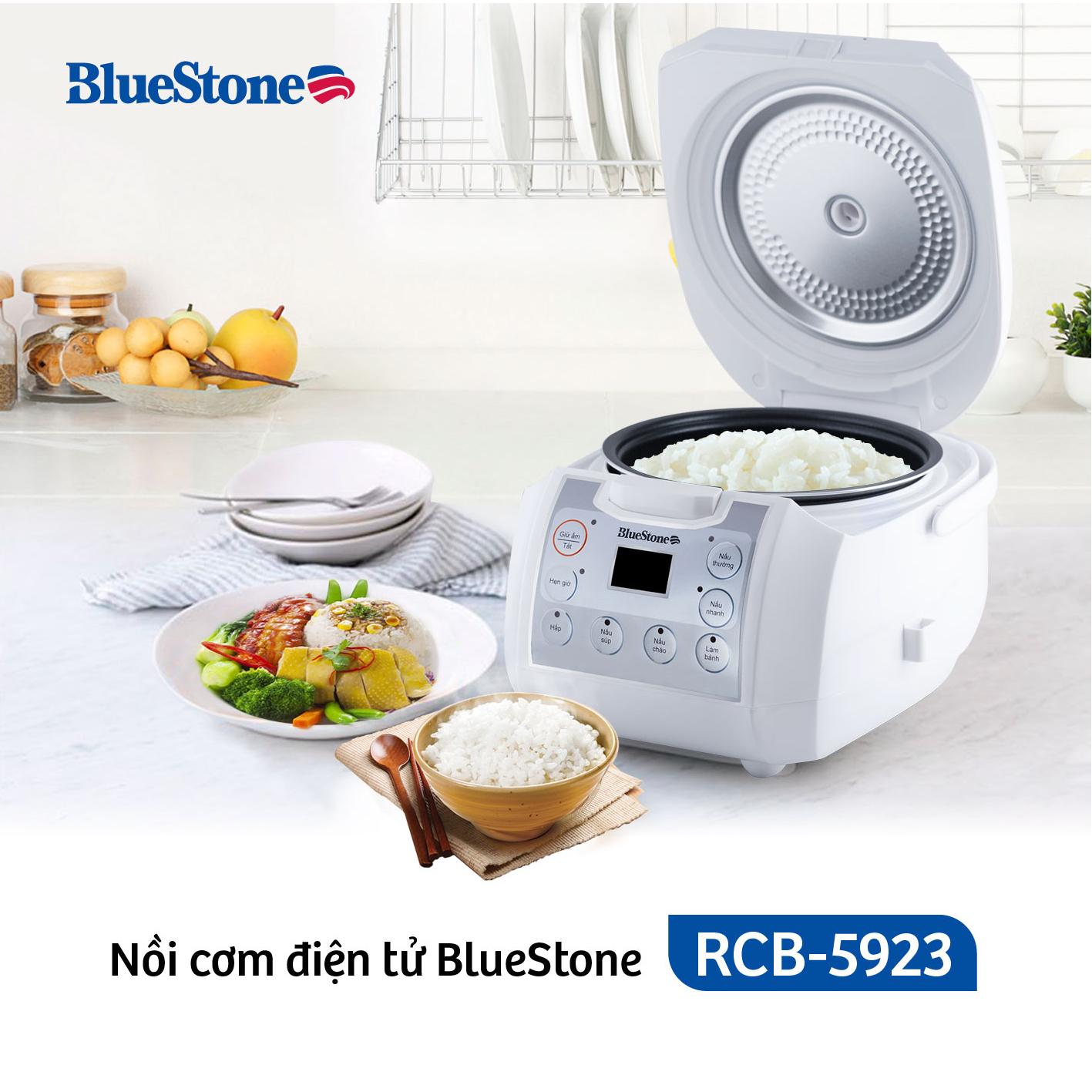 Nồi Cơm Điện Tử Bluestone RCB-5923 (1.8L)