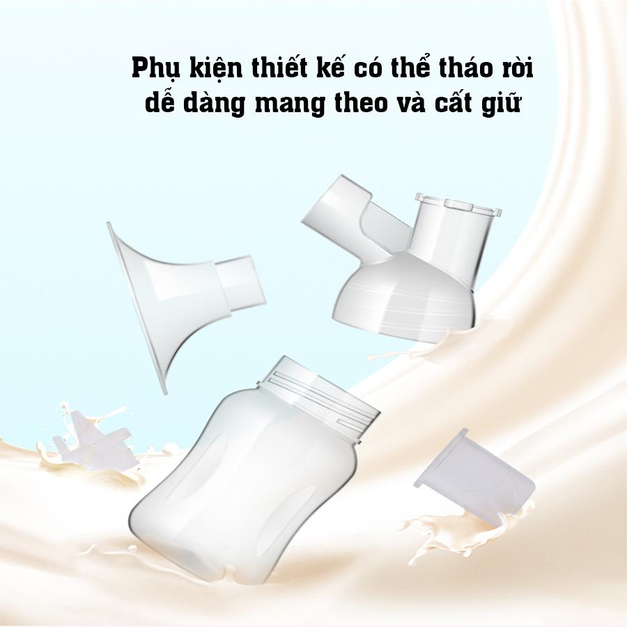 Máy hút sữa điện đơn dùng pin sạc di động cao cấp CMBEAR ZRX-0901 CHÍNH HÃNG - CMB21 2