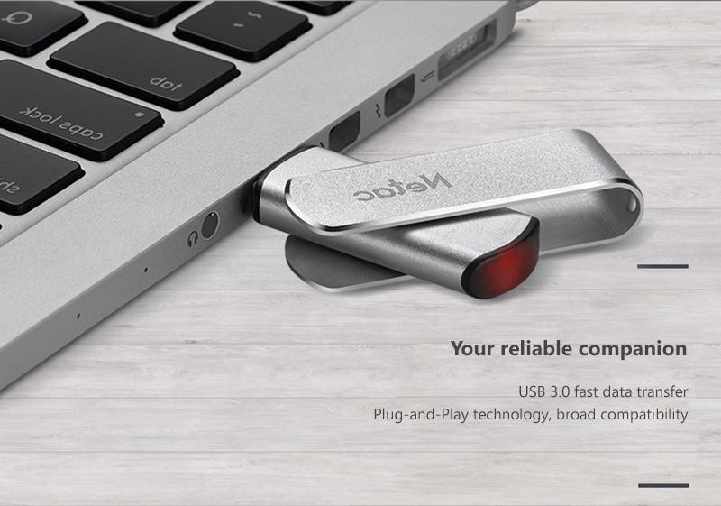 USB Chống Nước 3.0 128Gb Netac Banq U388
