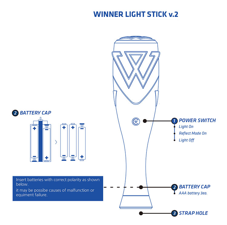 Winner Official Light Stick (Ver.2)