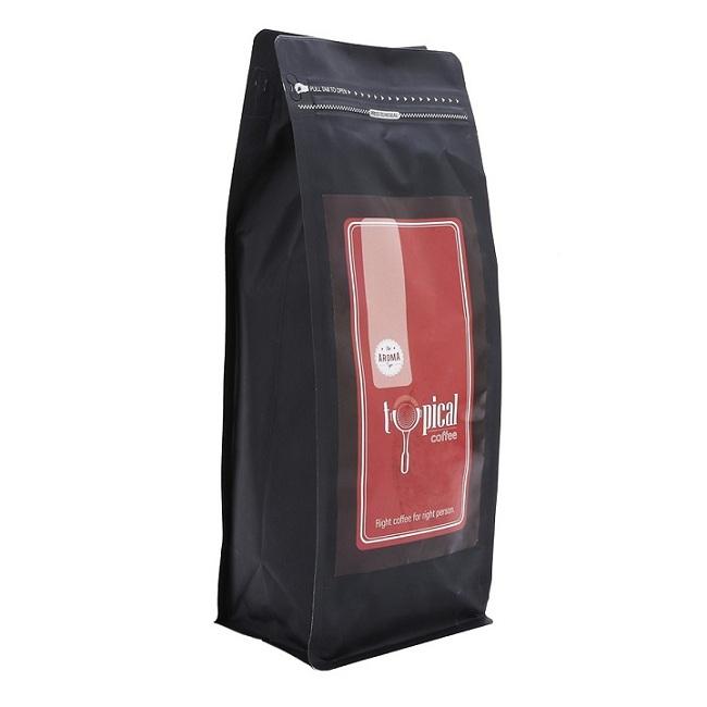 cà phê hạt pha máy espresso Arabica cầu đất