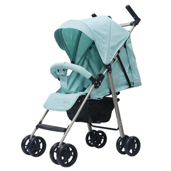 Xe đẩy trẻ em đa năng gọn nhẹ Thời trang cho bé Màu xanh mint 9
