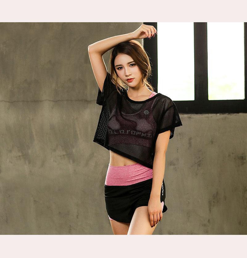 Set Bộ 3 đồ quần áo thun thể thao nữ áo ngoài zen năng động ( Đồ Tập Gym, Yoga, Aerobic ) mã 8808 4