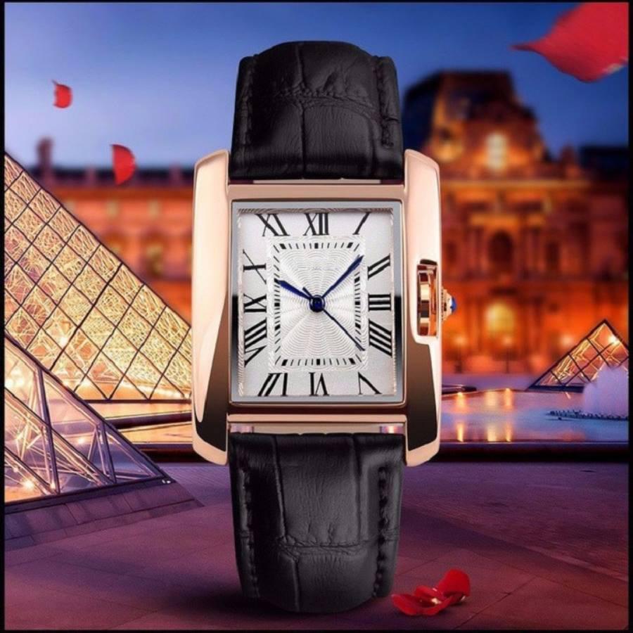 đồng hồ cặp dây da đẹp