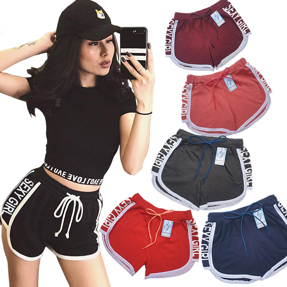 Combo 5 Quần đùi nữ SEXY GIRL dây rút, thể thao, tập gym, yoga, mặc nhà, giá rẻ, quần short nữ cao cấp ( Giao màu ngẫu nhiên ) 1