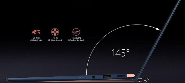 "Laptop Asus ZenBook UX433FN-A6125T Core i5-8265U/Win10 (14"" FHD) - Hàng Chính Hãng"