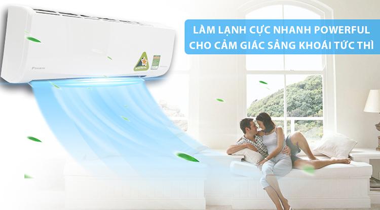 Máy Lạnh Inverter Daikin FTKC50UVMV/RKC50UVMV (2.0HP) - Hàng Chính Hãng 6