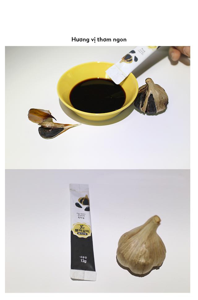 Nước Tỏi Đen Blacklabel (Hộp 10 Gói 12g) Hộp nhỏ ( Hàng nhập khẩu cao cấp Hàn Quốc) 6