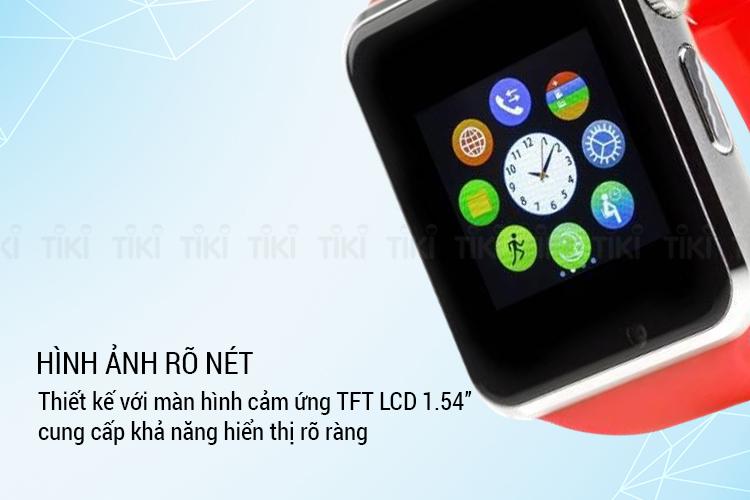 Đồng Hồ Thông Minh SmartWatch A1 Tiếng Việt SWA1