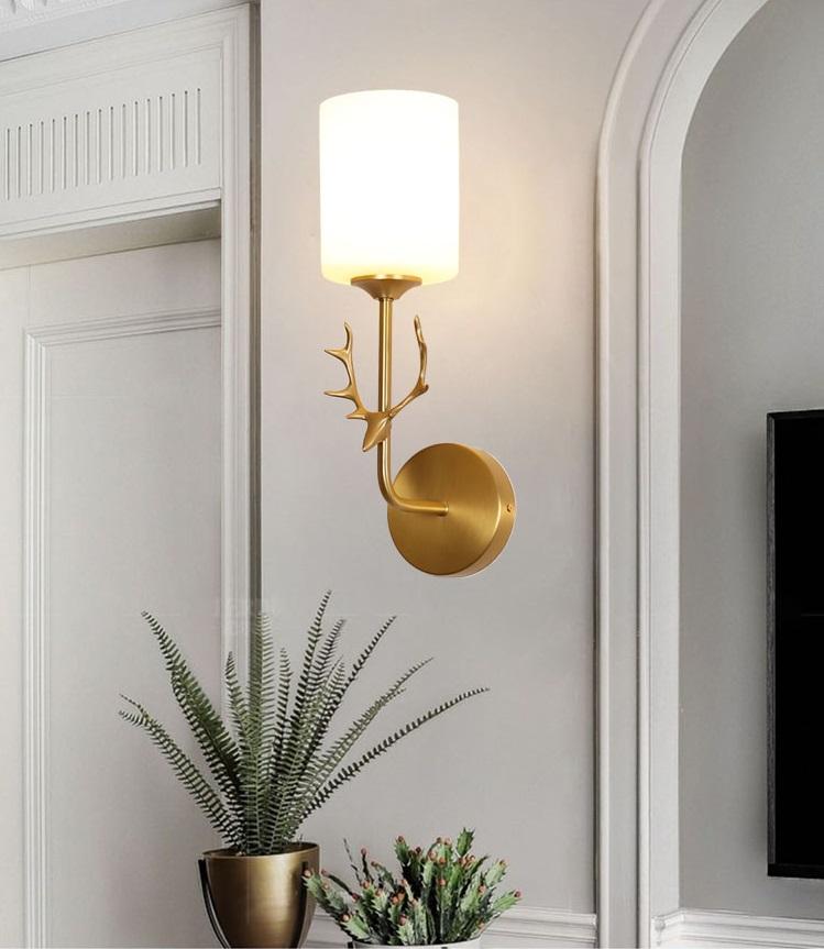 Đèn tường NATHALIA trang trí nội thất hiện đại - kém bóng LED chuyên dụng - Đèn  trang trí Thương hiệu MONSKY | SieuThiChoLon.com