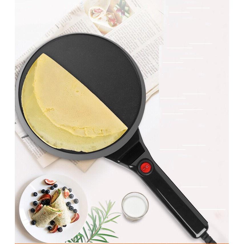 Chảo điện chống dính làm bánh crepe maker | Moonfa | Tiki