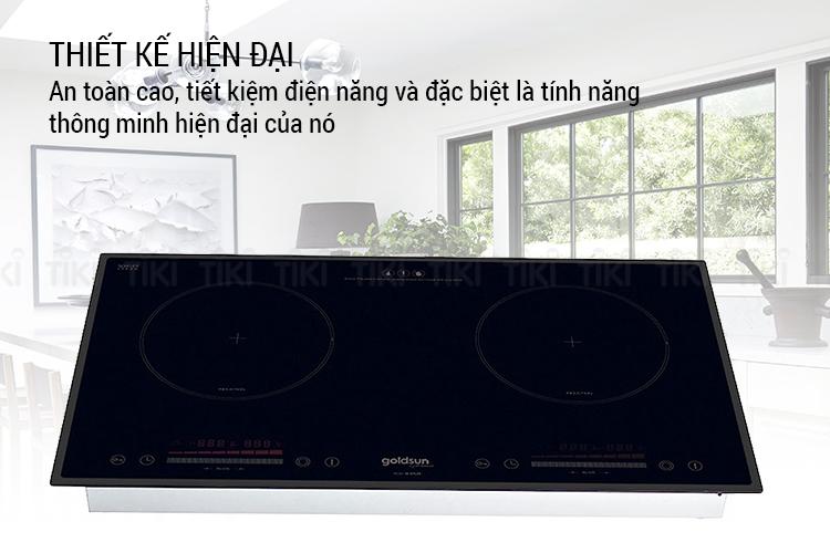 Bếp Điện Từ Đôi Goldsun IH-GYL29 (4000W) - Hàng Chính Hãng