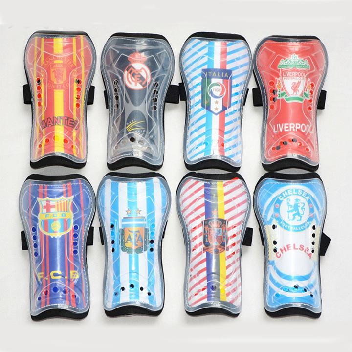 Combo Bó ống đồng đá bóng trẻ em các câu lạc bộ + Tất đá bóng dài trẻ em - Giao màu ngẫu nhiên (Free size) 5