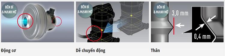 Máy Hút Bụi Công Nghiệp Panasonic PAHB-MC-YL635TN46 (2200W) - Hàng Chính Hãng