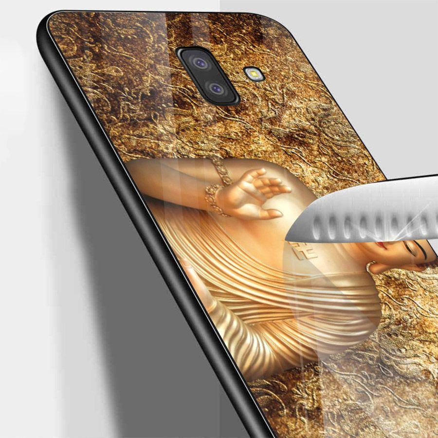 Ốp kính cường lực cho điện thoại Samsung Galaxy J6 - Tôn giáo MS TGIAO033