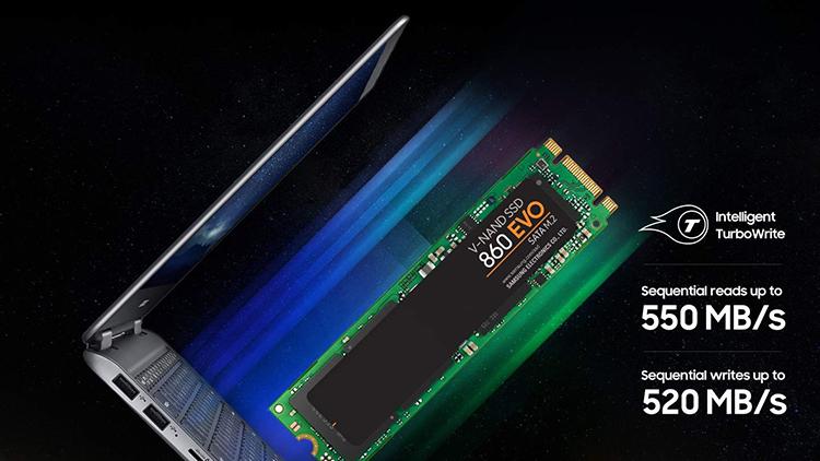 Ổ Cứng SSD Samsung 860 Evo MZ-N6E500BW 500GB Sata III M.2 2280 - Hàng Nhập Khẩu