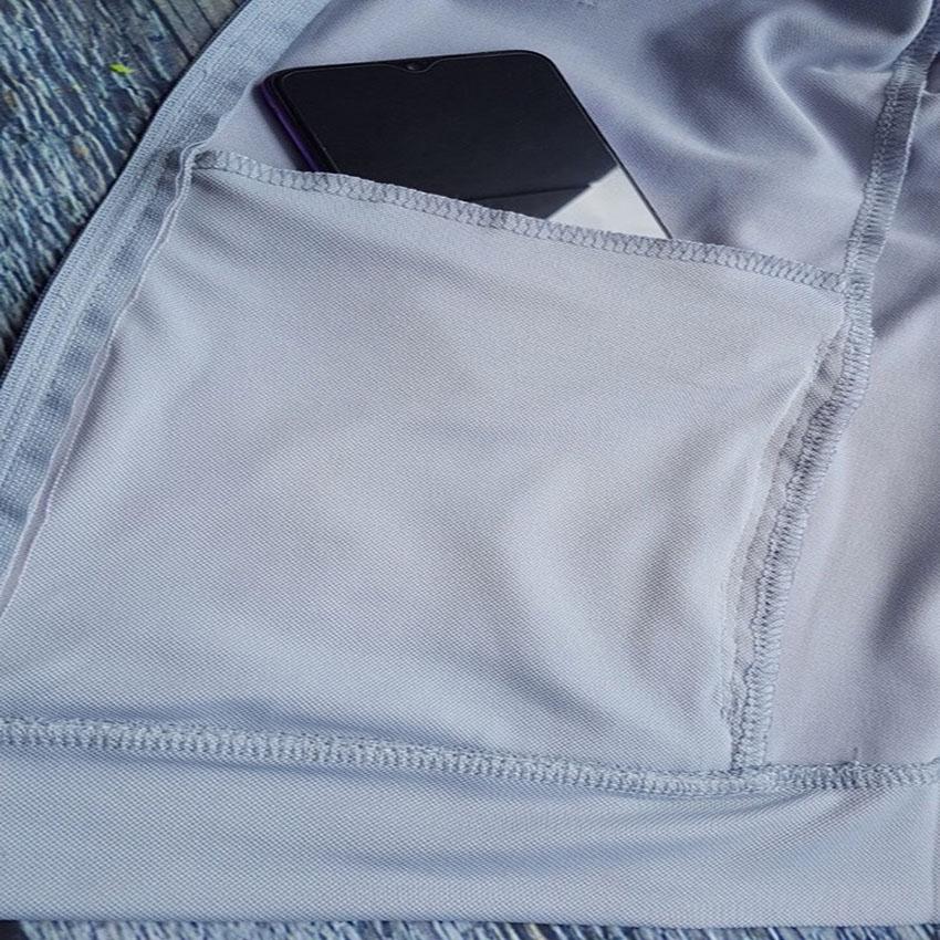 Áo chống nắng nữ liền thân, vải dày, dài tới gót chân, chống tia UV 9